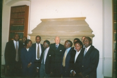 Meeting with Lord Woolf in London 2003