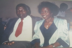 My parents Jovan and Mary Kiryabwire