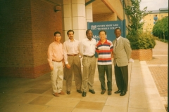 Geoffrey and class mates of international financial law at Queen mary College London  1995