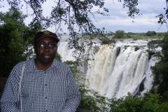 At Victoria falls Zambia