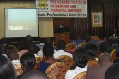 Presentation at the Uganda Institute of Bankers