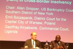 Presenting at International Insolvency conference