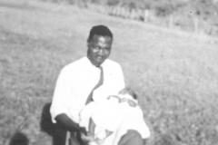 Geoffrey Kiryabwire as a baby