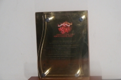 Kings College Budo Achievement Award  2011